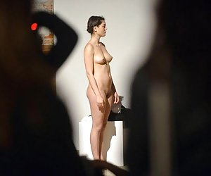 Category: naked in a museum
