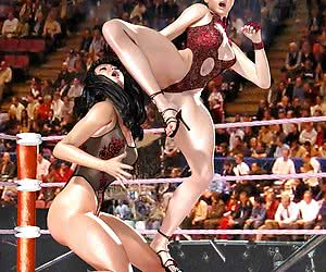 Category: female wrestling 3d
