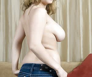 Topless In Jeans